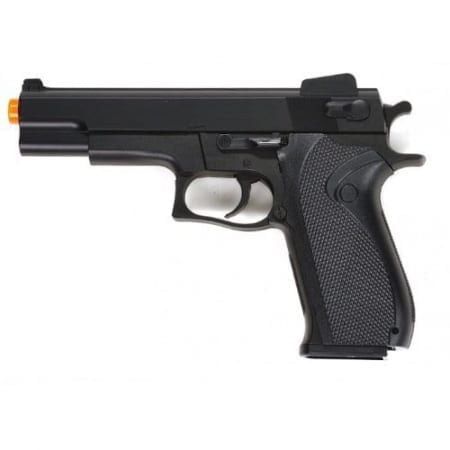 1911 STYLE AIRSOFT SPRING PISTOL WITH MAG