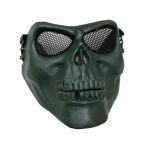 Airsoft Skull Mask OD MA-22-OD