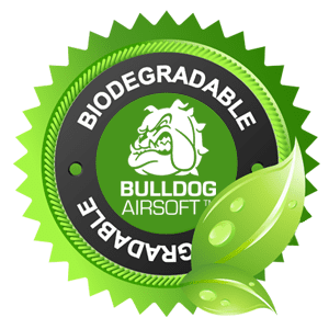 Bulldog Biodegradable 2000 Airsoft BB 0.25g White