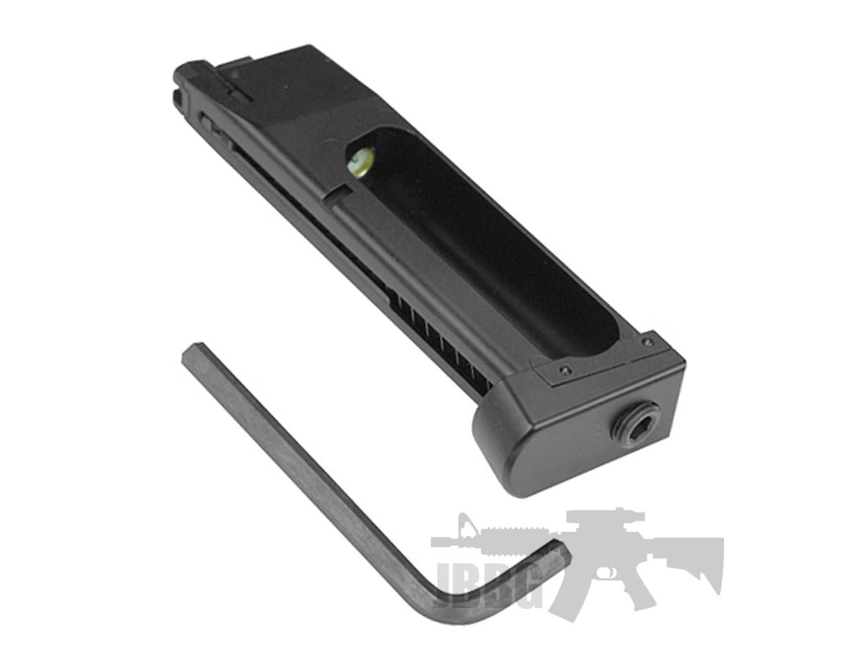 HFC HG HGA Co2 Airsoft Pistol Magazine for M9 Series