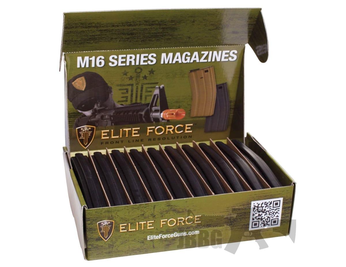 Elite Force Midcap Magazine M4 Series Airsoft AEG Set