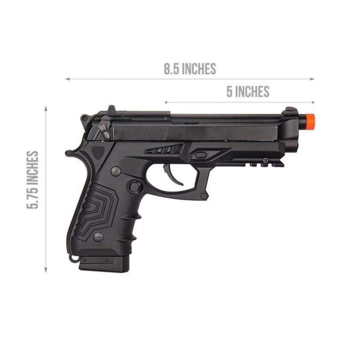 gas blowback gbb pistol