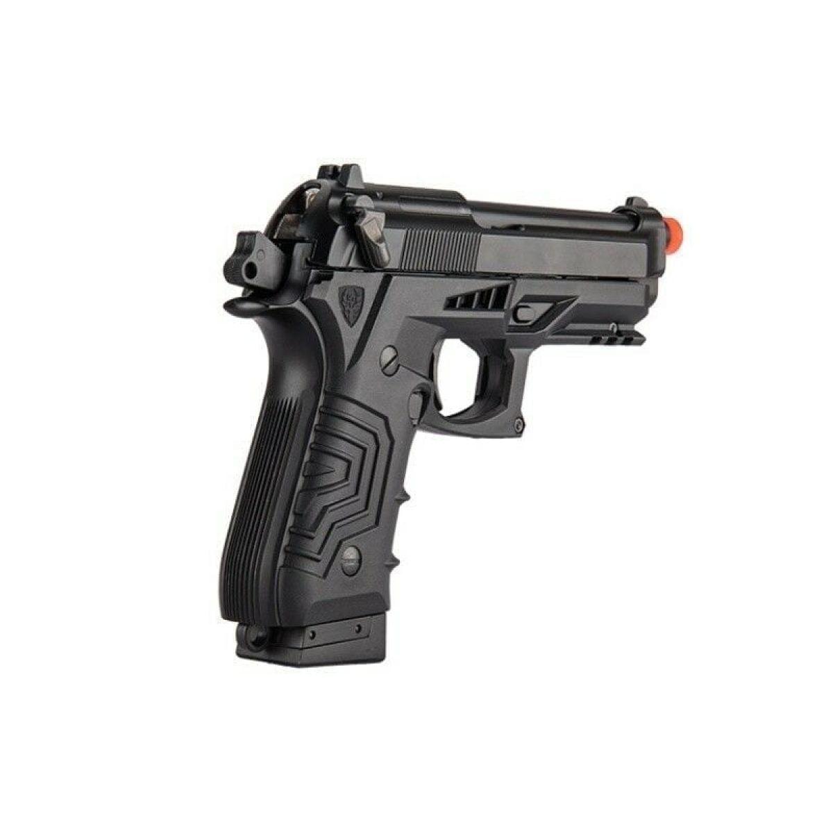 gas blowback gbb pistol black