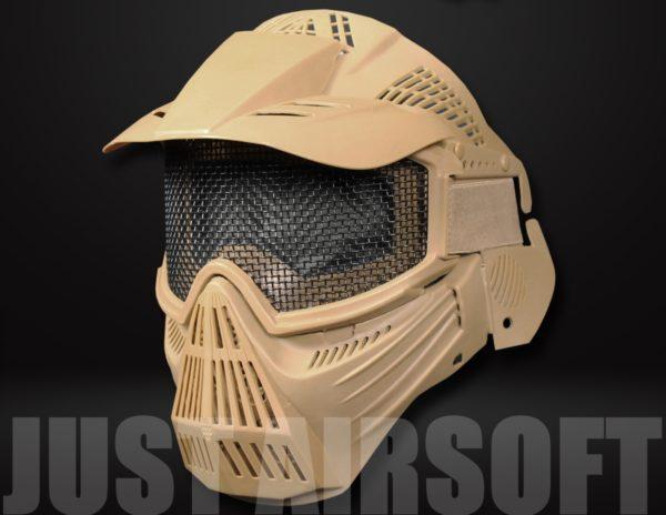 Pro Mesh Mask Tan MA07T