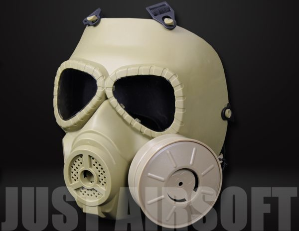 Airsoft Gas Mask Tan MA27T