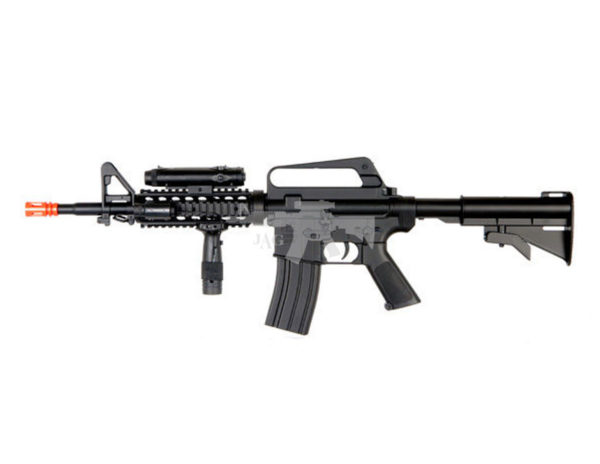 WELL M16A4 CQB RIS AIRSOFT SPRING RIFLE 2