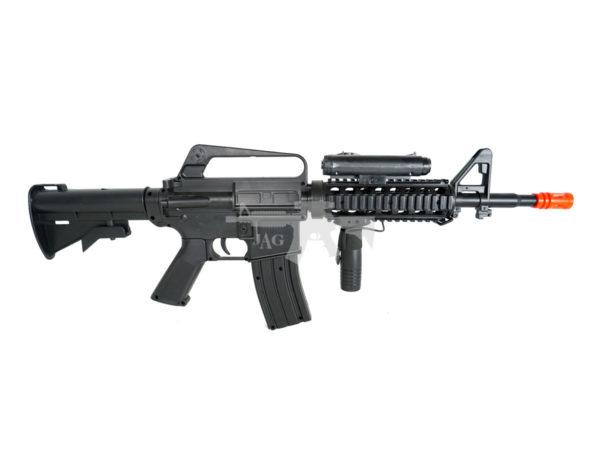 WELL M16A4 CQB RIS AIRSOFT SPRING RIFLE