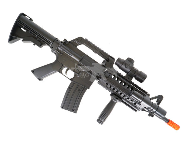 WELL MR733 M4 STYLE AIRSOFT SPRING RIFLE