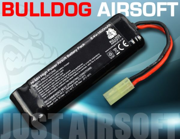 8.4V 1600 Airsoft Battery Pack