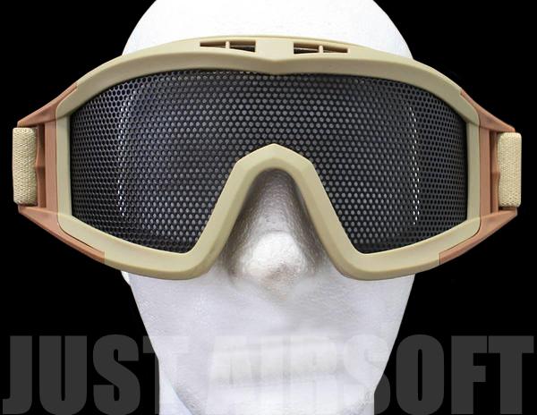 Big Airsoft Goggles Tan MA04T
