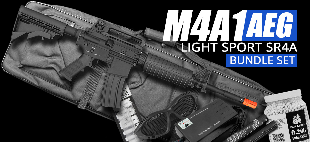 m4a1 light sport airsoft rifles set