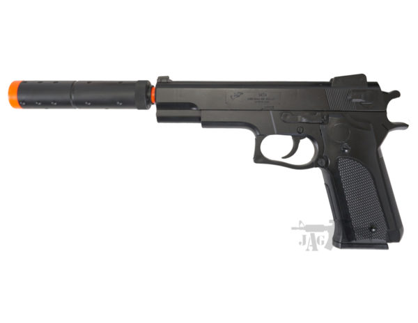 M24 Spring Airsoft Pistol with Silencer