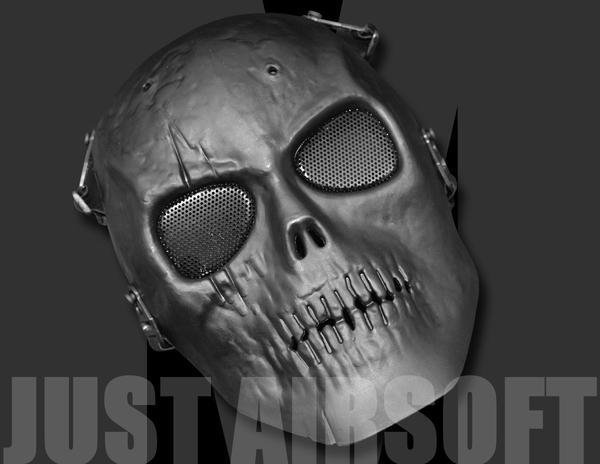 Full Face Skull MA13BK