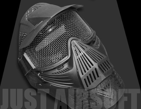Airsoft Pro Mask Black MA08BK