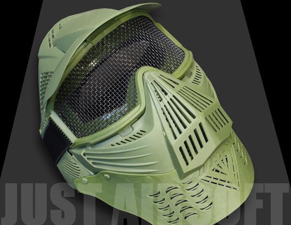 Airsoft Pro Mask Green MA08OD