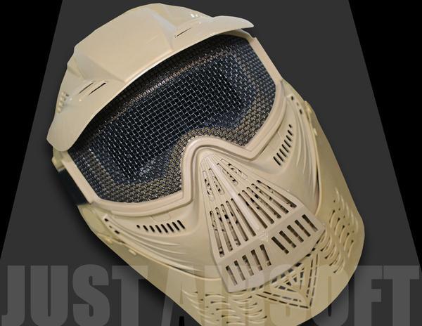 Airsoft Pro Mask Tan MA08T
