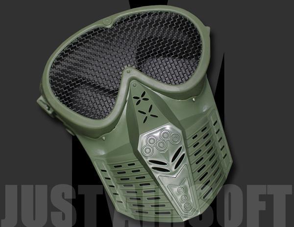 Airsoft Mask Green MA18OD