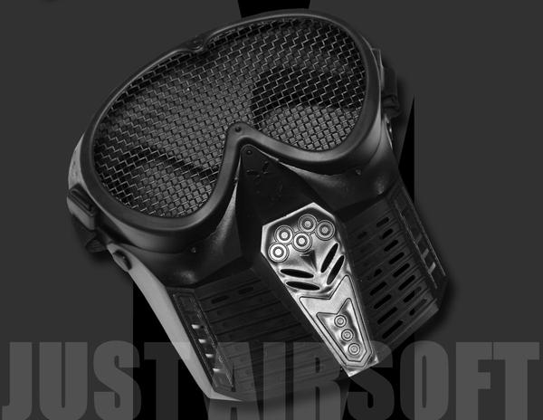 Airsoft Mask Black MA18BK