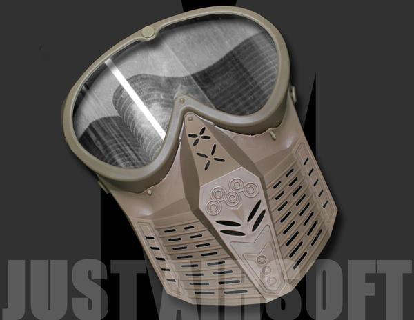 Airsoft Mask Tan MA64T