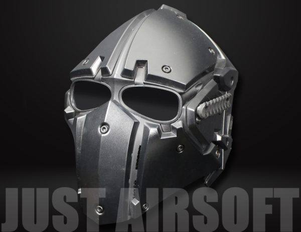 Airsoft Tactical Helmet with Full Face Mask HL91BKBK US