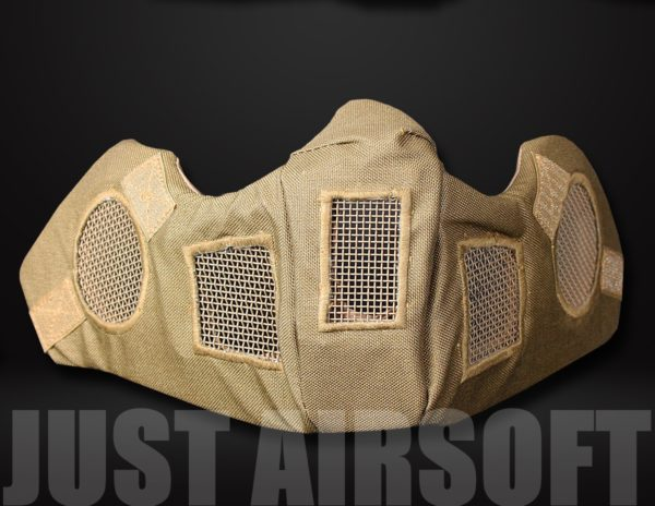 Airsoft Lower Face Mask Tan MA83T