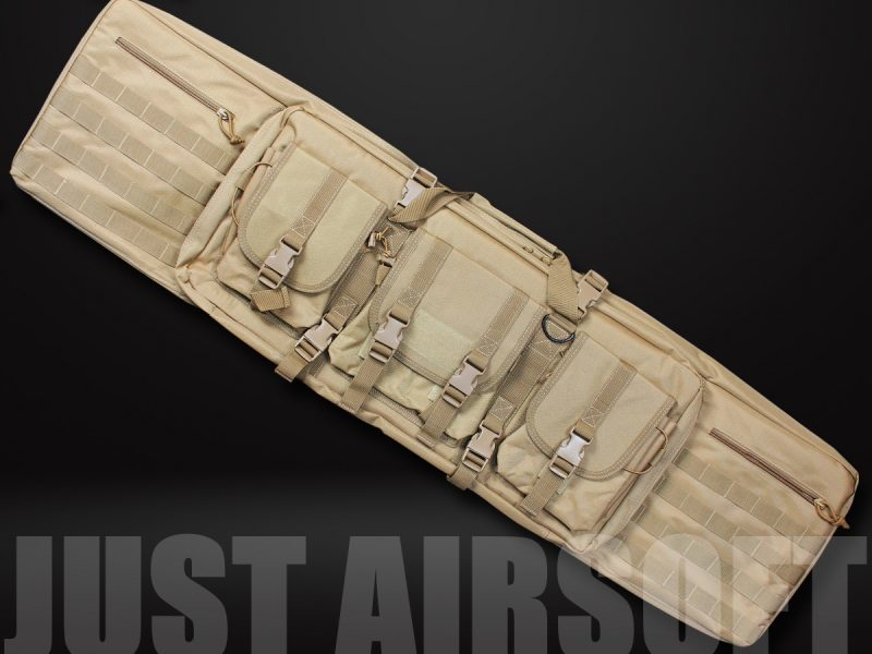 GB16 Dual Cabbeen Functional Bag Tan