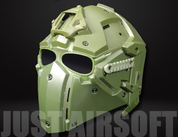 Airsoft Tactical Helmet with NVG Shroud and Transfer Base HL92OD US