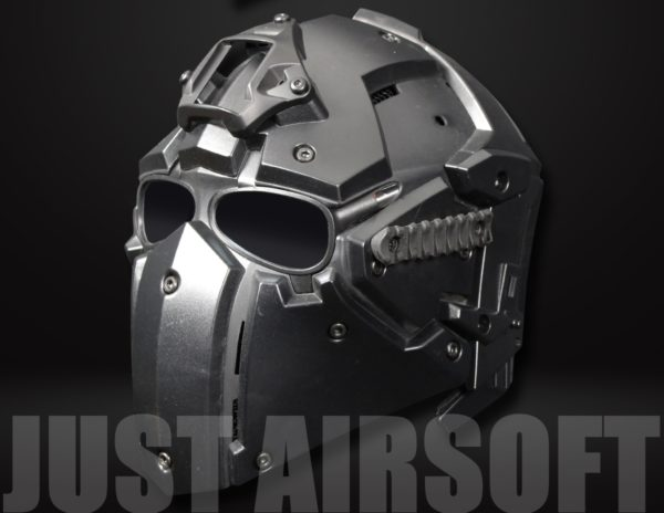 Airsoft Tactical Helmet with NVG Shroud and Transfer Base HL92BK US