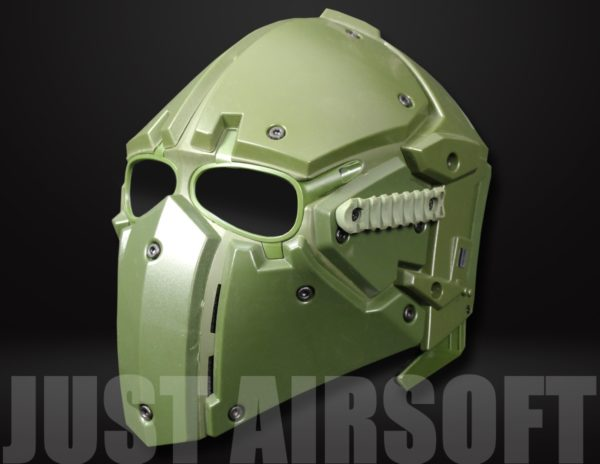 Airsoft Tactical Helmet with Full Face Mask HL91OD US