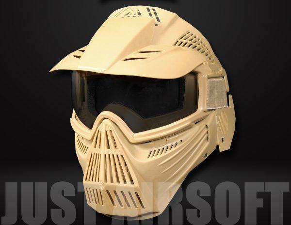 Pro Airsoft Mask Tan MA58T