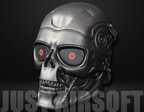 Full Face Skull Mask Black MA90BK