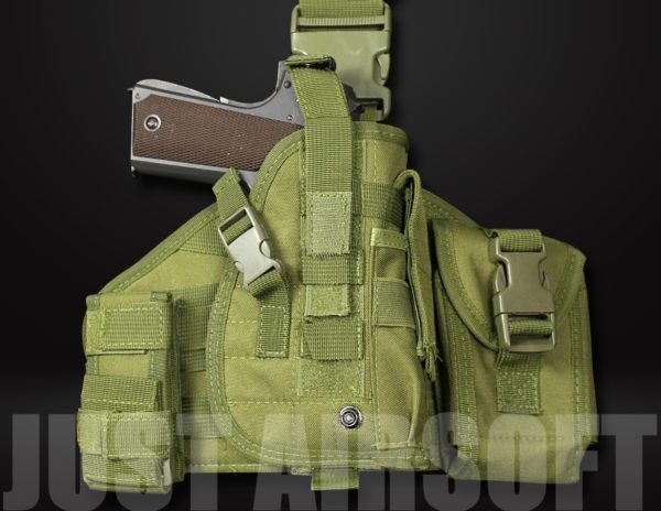 GB-08 Airsoft Pistol Holster Green US