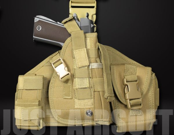 GB-08 Airsoft Pistol Holster Tan US