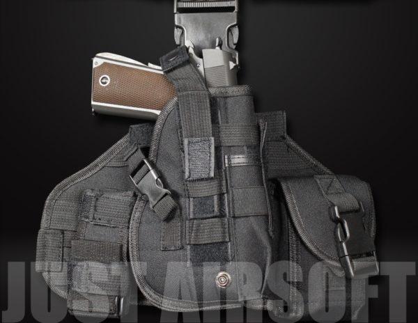 GB-08 Airsoft Pistol Holster Black US