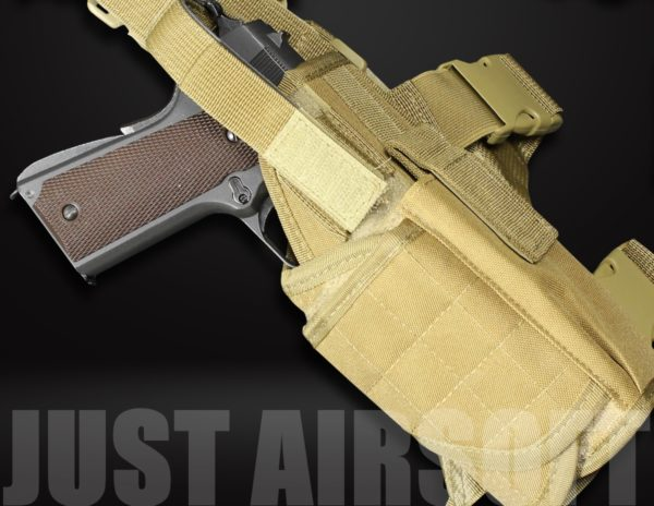 GB-11 Airsoft Pistol Holster Tan US