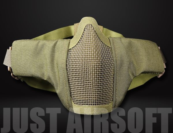Airsoft Lower Face Mask Tan MA42T