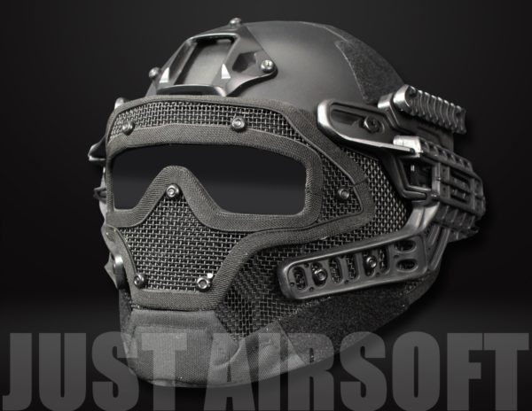 Airsoft Tactical Helmet G4B HL15MHBK US