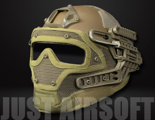 Airsoft Tactical Helmet G4B HL15MHTAN US