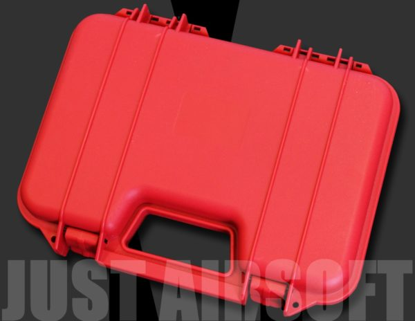 Hard Pistol Case Red