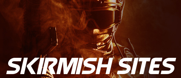 airsoft skirmish sites