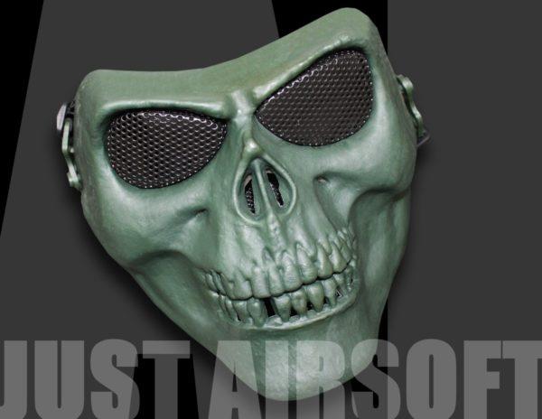 Airsoft Skull Mask OD MA22OD