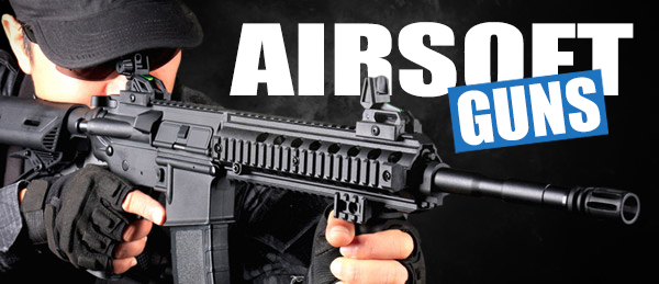 airsoft guns rifles