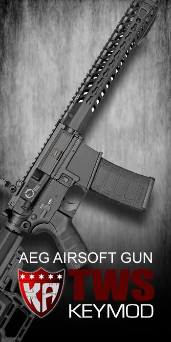 KA M4 TWS KEYMOD CARBINE AIRSOFT GUN