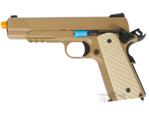 WE 1911 Kimber Style Airsoft Gas Pistol