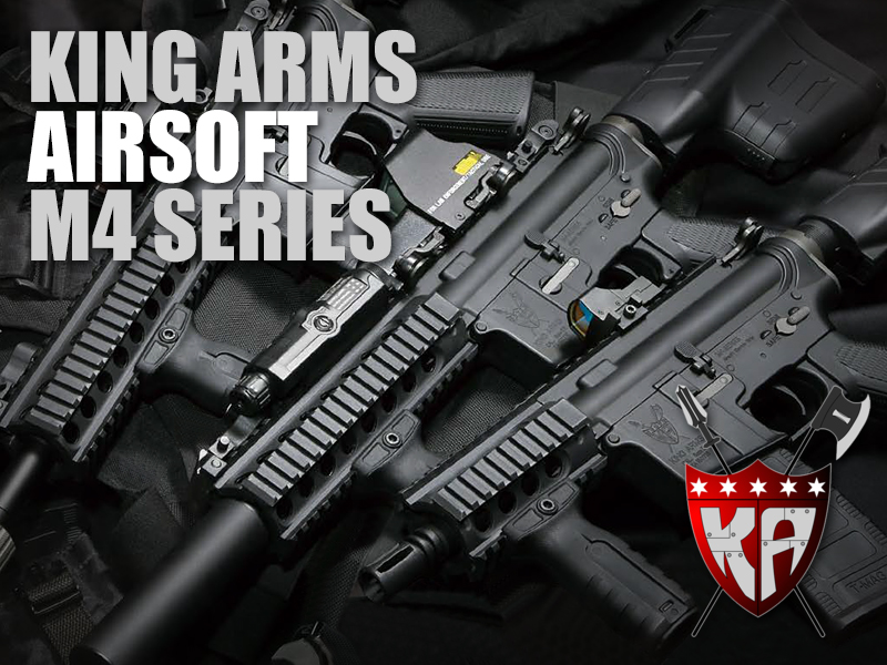 king arms m4 series rifles