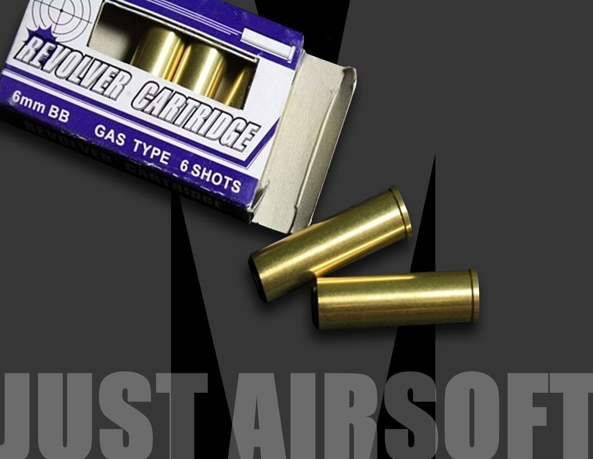 314 Gas Revolver Copper Shells US
