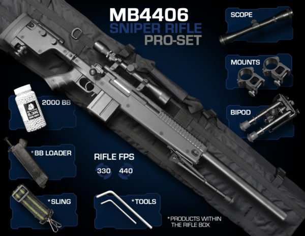 Well MB4406 Sniper Rifle Pro