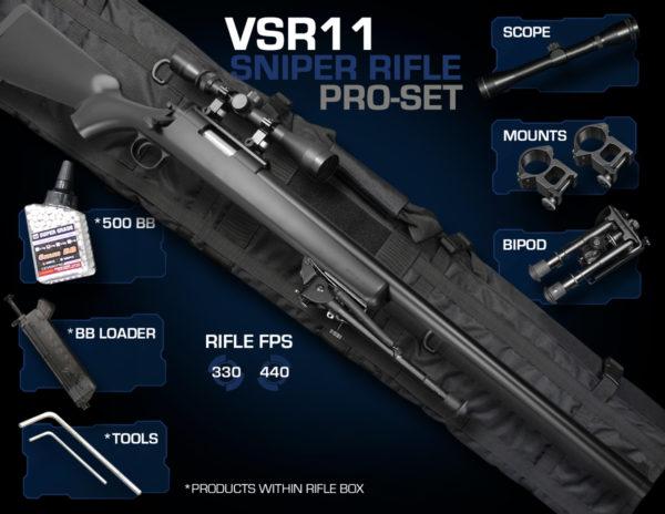 VSR11 Sniper Rifle Set Pro