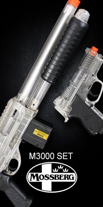 MOSSBERG M3000 AND CS45 AIRSOFT SET