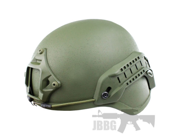 WoSport High-Speed Tactical Helmet Green
